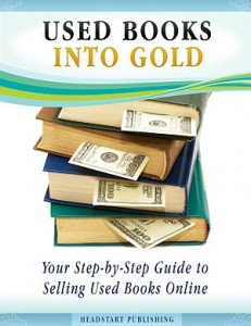 Used books into gold book